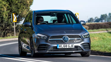 Mercedes B-Class MPV front cornering