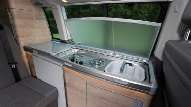Volkswagen California kitchenette
