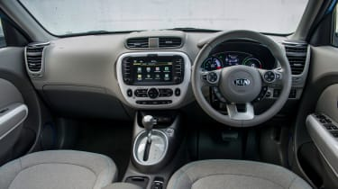 Kia claims 132 miles between charges
