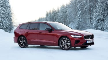 Volvo V60 T8 Twin Engine hybrid front 3/4 static