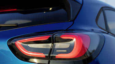2020 Ford Puma - rear light close-up view