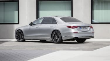 2020 Mercedes S-Class - rear 3/4 static