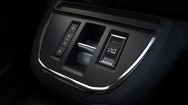 Peugeot e-Traveller gear selector