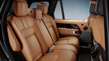 Range Rover Fifty rear seats