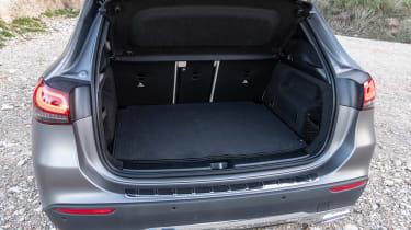 Mercedes GLA SUV boot