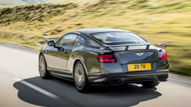 The Continental Supersports' 6.0-litre W12 engine produces a staggering 700bhp