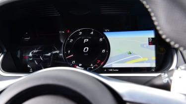 Jaguar F-Type coupe digital instruments