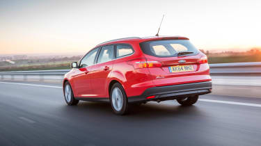 Despite its sharp handling, the Focus can deal with most bumps thanks to its suspension being tuned for UK roads