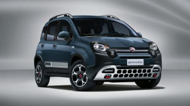 2020 Fiat Panda Cross - front 3/4 view