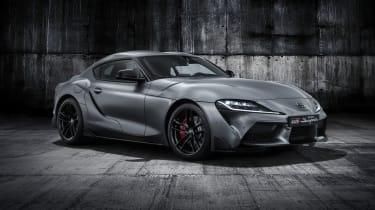 Toyota Supra in grey