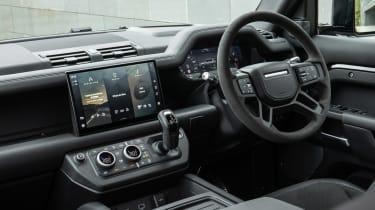 Land Rover Defender V8 SUV interior