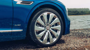 Bentley Continental Flying Spur saloon alloy wheels
