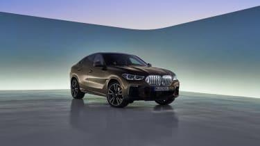 2019 BMW X6 - front quarter kidney grilles lit up