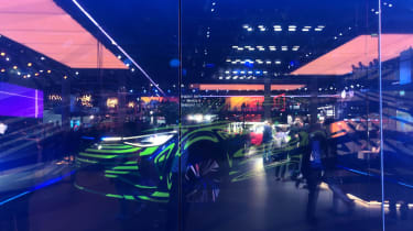 2021 Volkswagen ID.4 - Front three quarter at Frankfurt