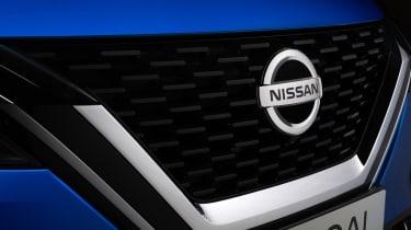 New Nissan Qashqai grille