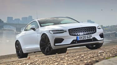 Polestar 1 coupe front 3/4 static