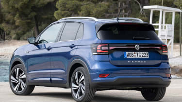 Volkswagen T-Cross 2019 rear quarter