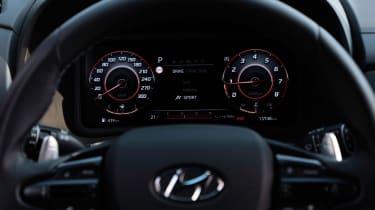 Hyundai Kona N dials