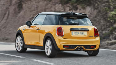 MINI hatchback 2014 rear cornering