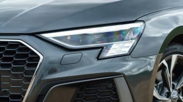 Audi A3 Sportback hatchback headlights