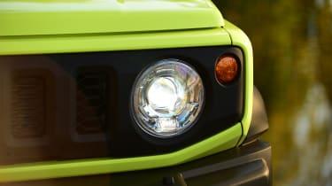 Suzuki Jimny SUV headlights
