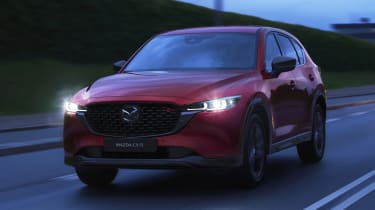2022 Mazda CX-5 Sport Black driving