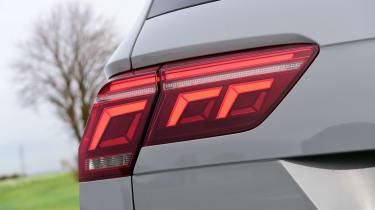 Volkswagen Tiguan SUV rear lights