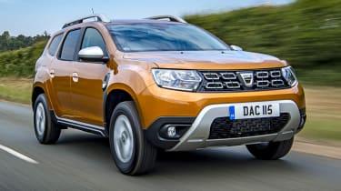 2018 Dacia Duster driving