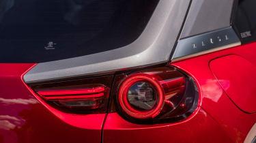 Mazda MX-30 SUV rear lights