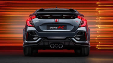Honda Civic Type R Sport Line - rear end