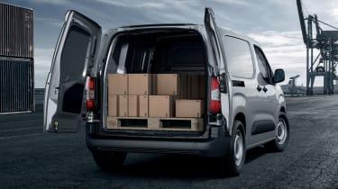 2018 Peugeot Partner van load bay