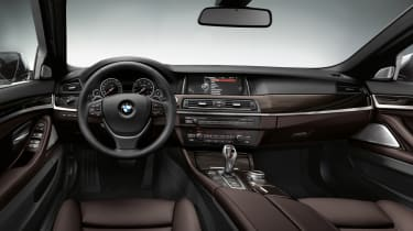 BMW 5 Series 2013 saloon interior