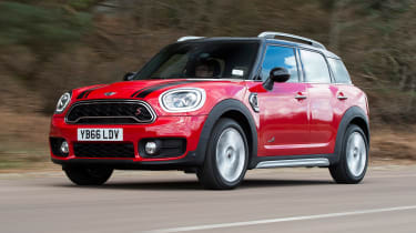 The MINI Countryman SUV is the brand's largest and most practical model, making it ideal for families