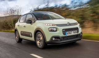 Citroen C3 Flair hatchback front 3/4 tracking