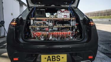 Electric Porsche Macan - prototype battery development