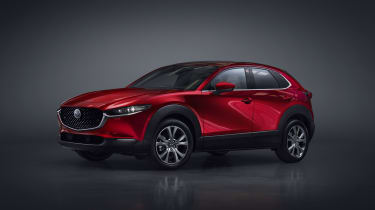 Mazda CX-30 SUV - Geneva - three quarters front