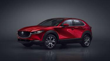 Mazda CX-30 SUV - Geneva - three quarters front