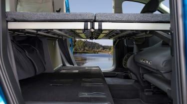 2020 Volkswagen Caddy California - rear bed
