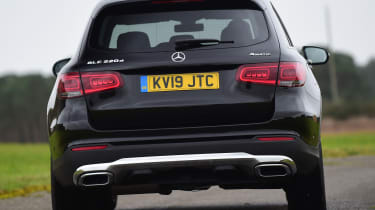 Mercedes GLC SUV tail