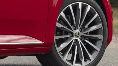 "2019 Skoda Superb facelift - 19"" alloy wheel"