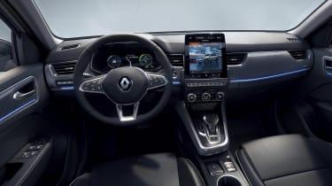 2021 Renault Arkana SUV interior