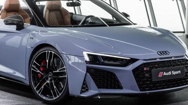 2019 Audi R8 Spyder front