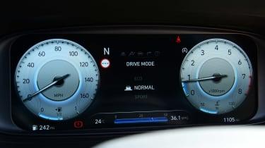 Hyundai i20 N hatchback instruments