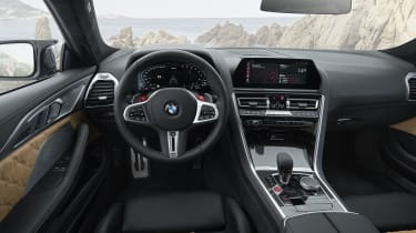 BMW M8 Competition coupe - Interior
