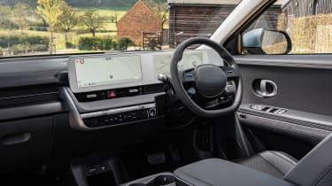 Hyundai Ioniq 5 drive - dashboard