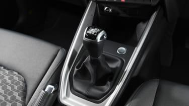Audi A1 2019 gearstick