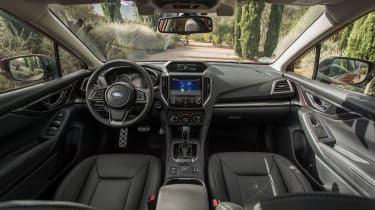 Inside, the Impreza is far better assembled and materials are nicer than in previous models