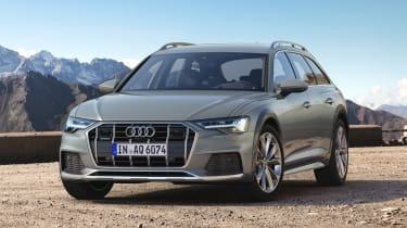 New 2019 Audi A6 Allroad estate - front 3/4 view