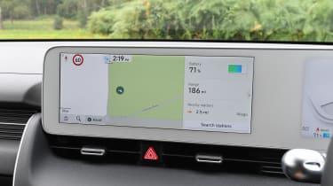 Hyundai Ioniq 5 sat nav