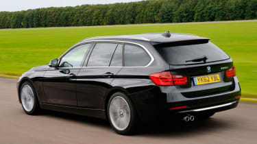 BMW 330d Touring - rear